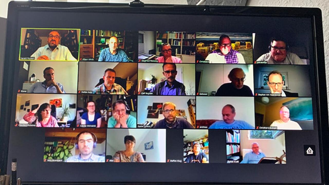 Fünfstes Treffen des Runden Tisches der EMK in Deutschland als Videokonferenz
