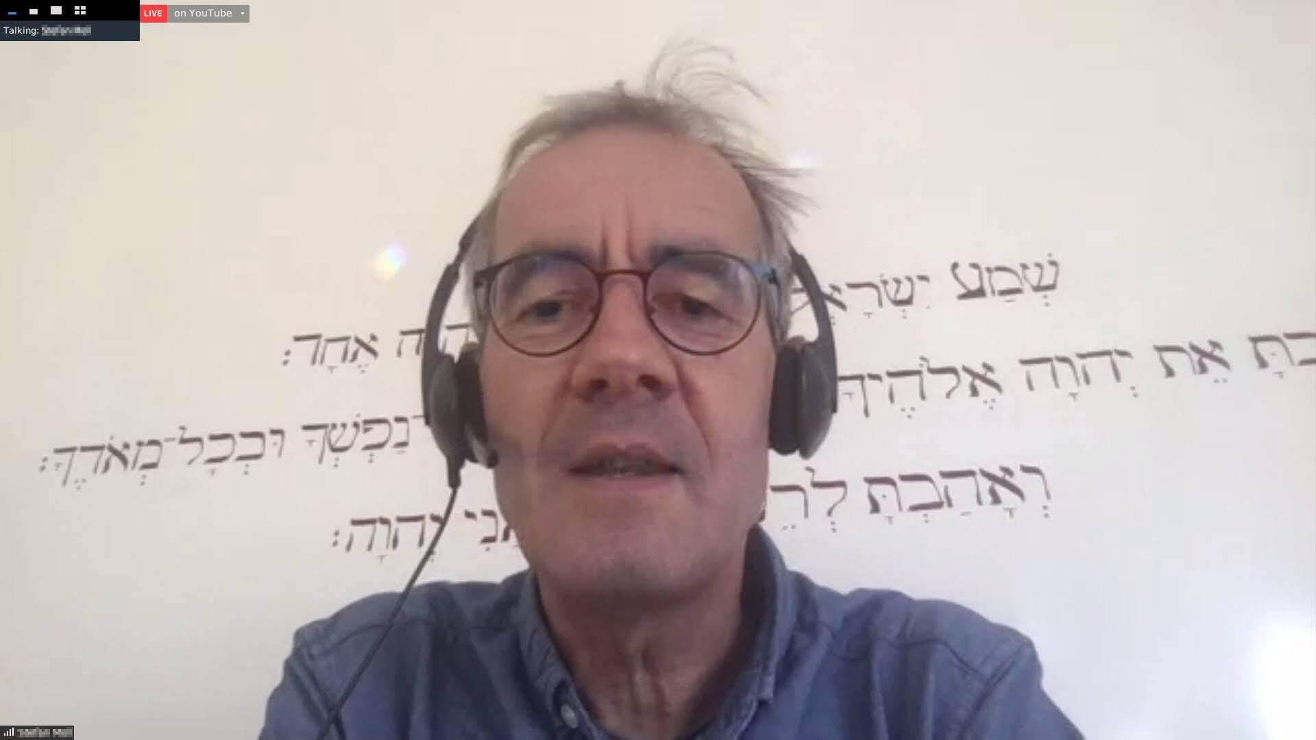 Stefan Moll, Online an der Tagung der JK 2020