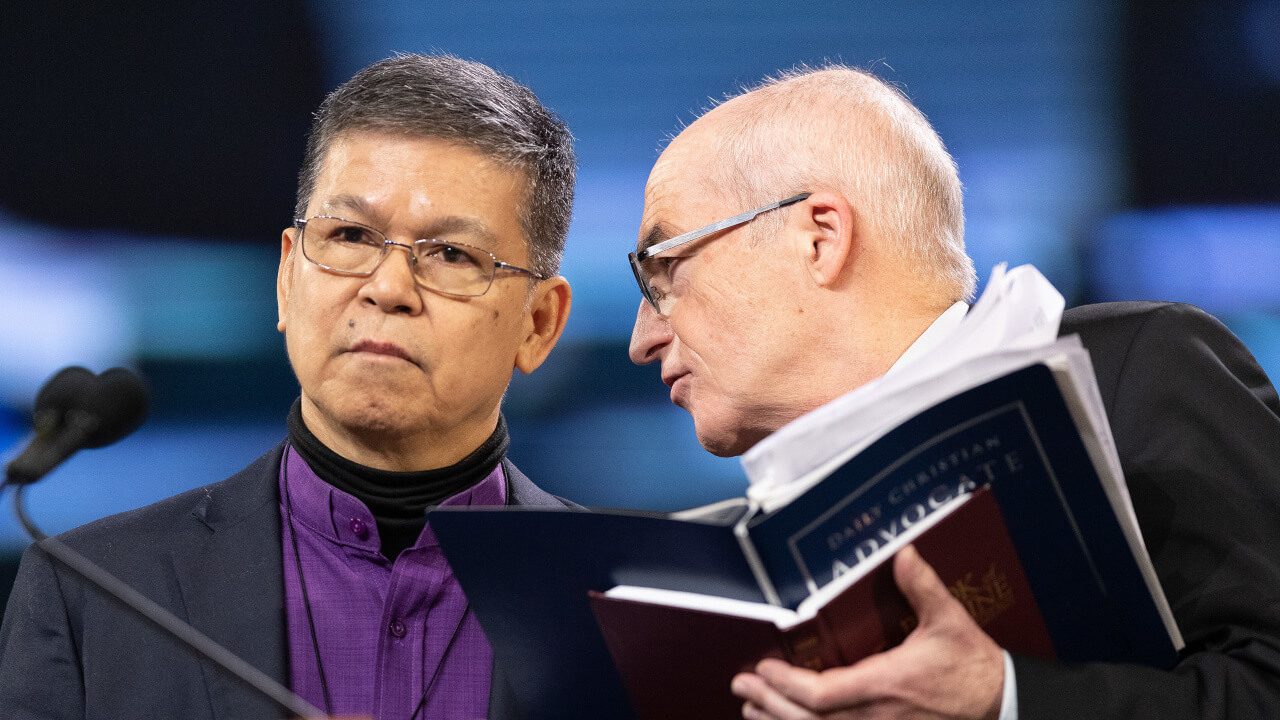 Bischöfe Francisco und Streiff an der GK 2019