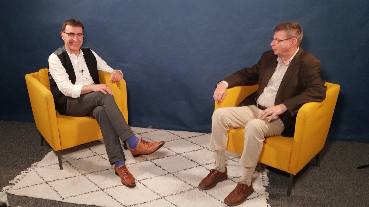 Thomas Wirth (l.) und Jea-Paul Dietrich