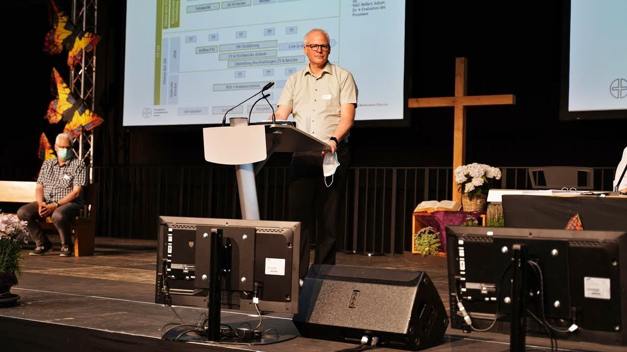 Roland Affolter, Co-Präsident des Vorstands