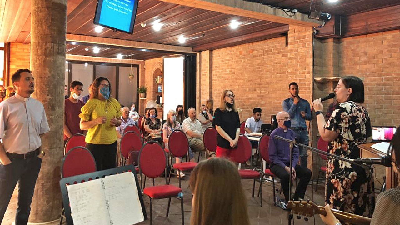Gottesdienst in Cluj-Napoca