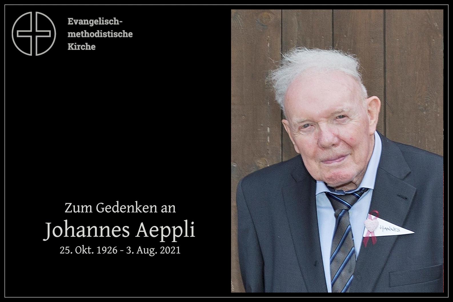 Johannes Aeppli