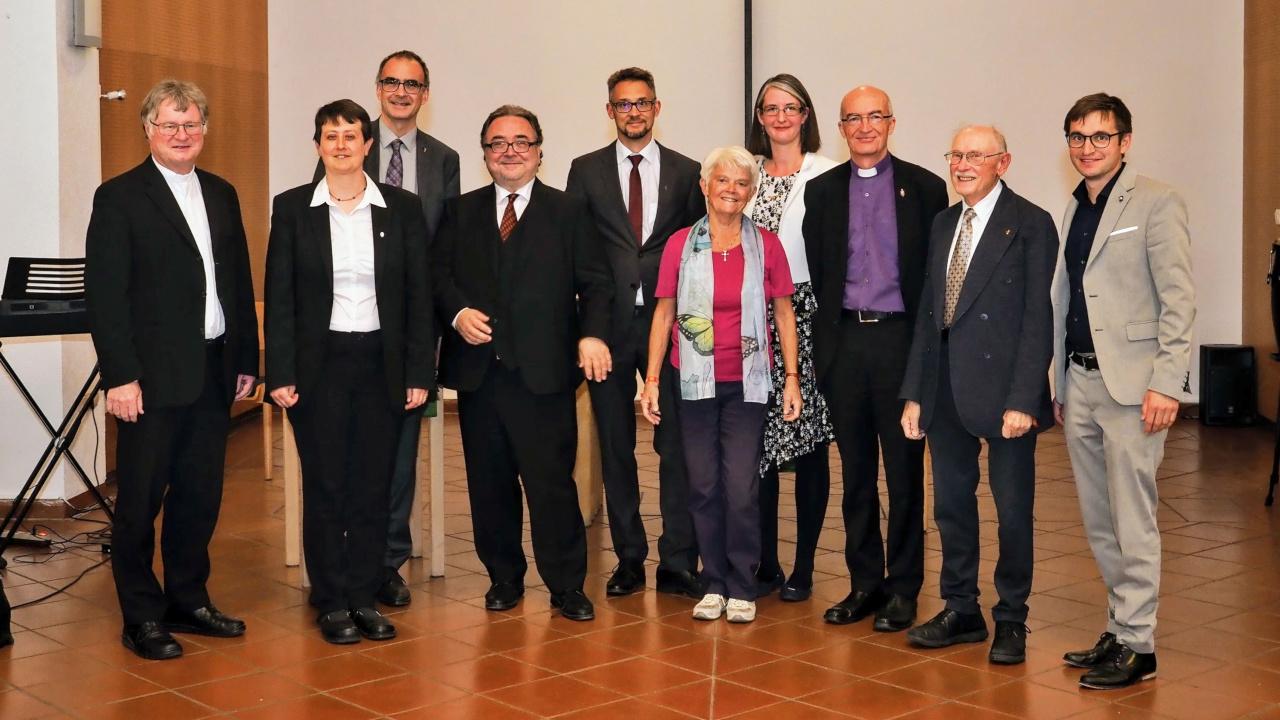 Einige der Gäste beim Jubiläum der EmK Österreich