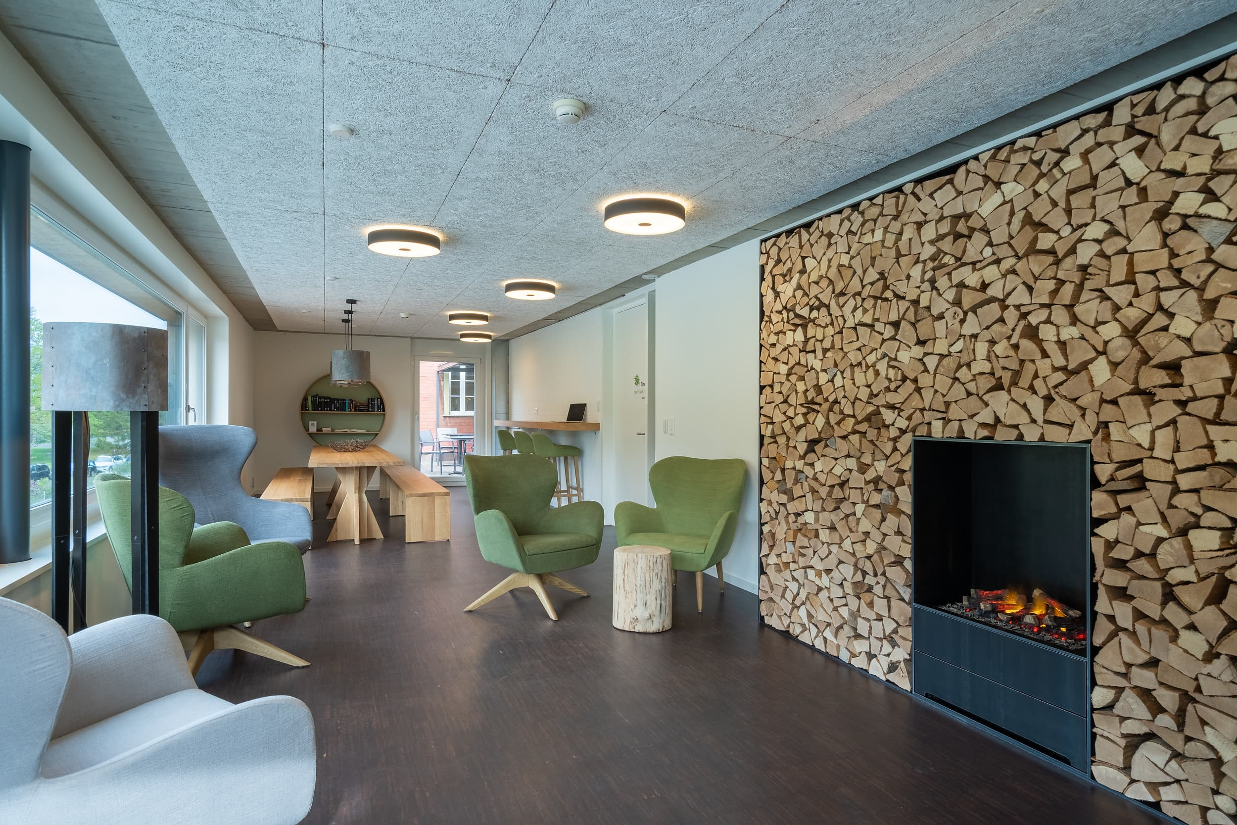 Coworking-Space In Der Backpackers Villa Sonnenhof In