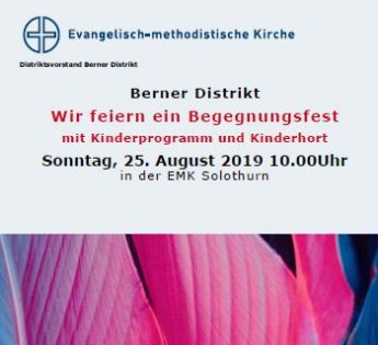 Begegnungsfest Berner Distrikt