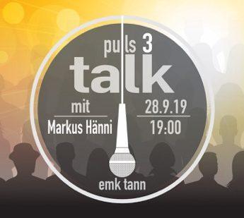 Puls3-talk mit Markus Hänni