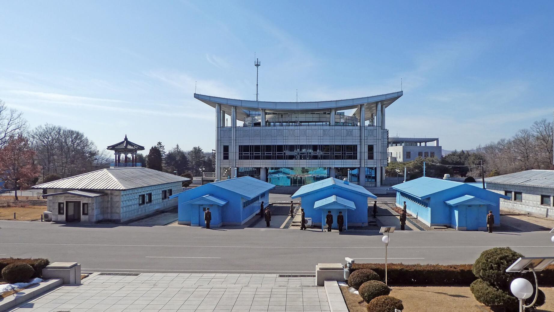 Entmilitarisierte Zone zwischen Nord- und Südkorea