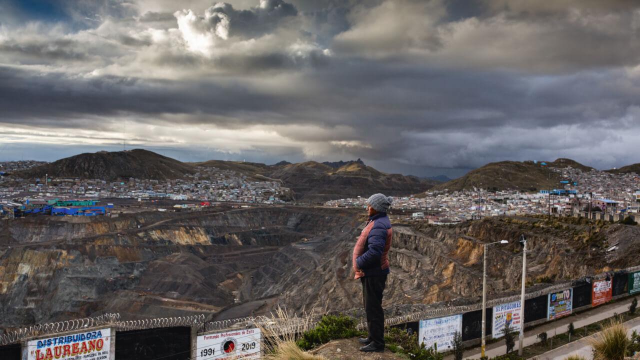 Mine in Cerro de Pasco (Peru)