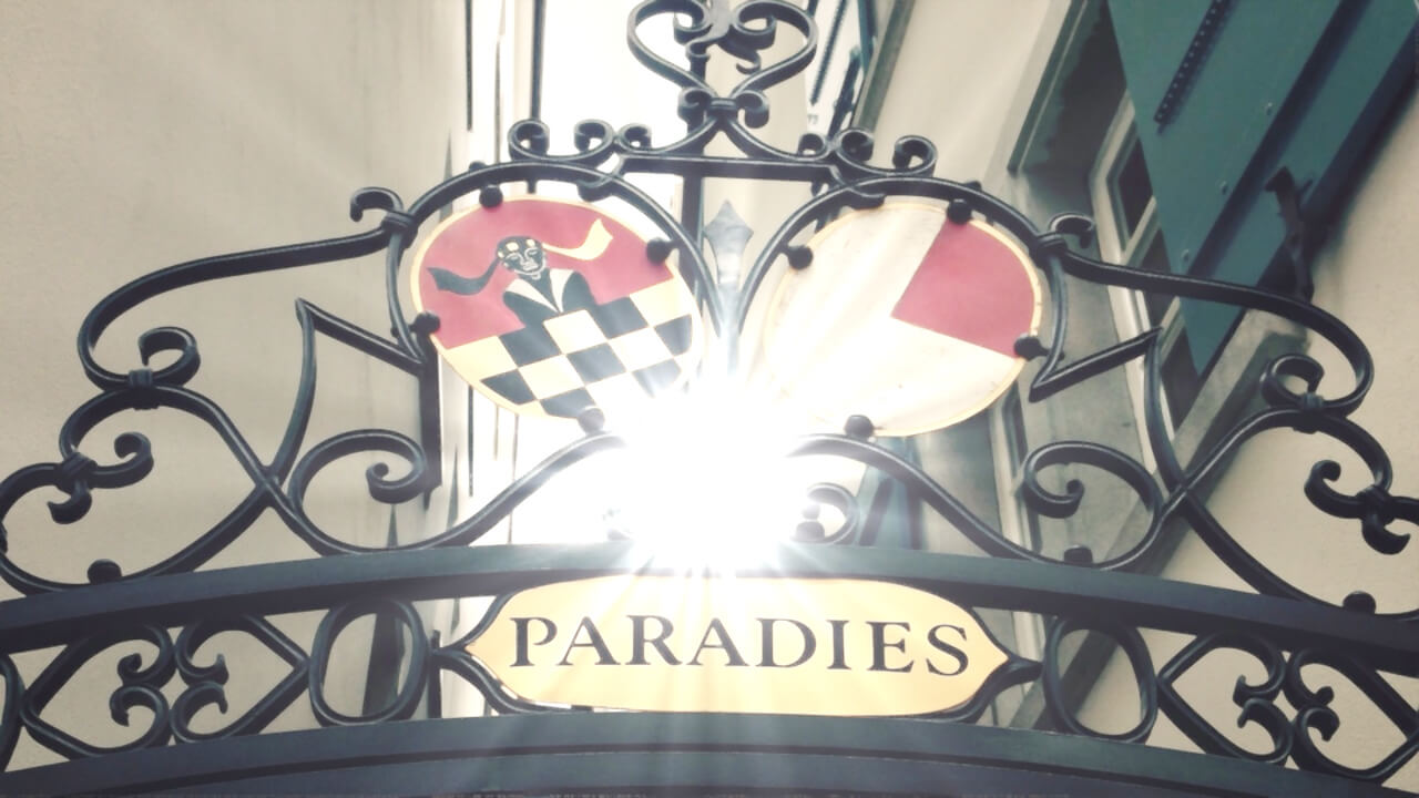 Sonne vor dem Paradies