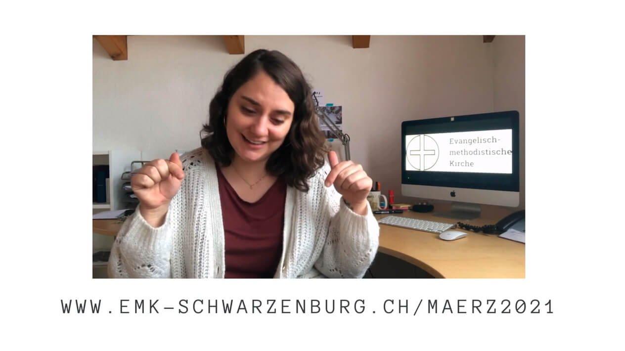 Pfarrerin Sarah Bach, EMK Schwarzenburg